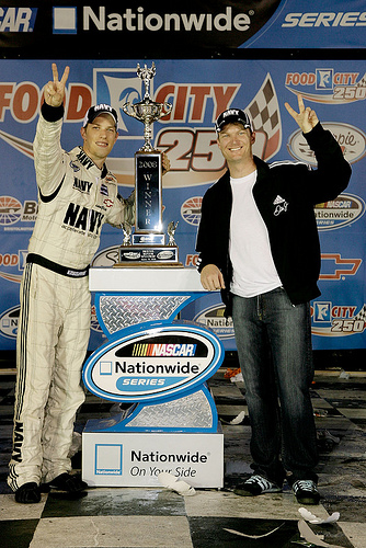 Brad Keselowski and Dale Earnhardt Jr