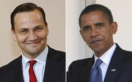 Sikorski and Obama